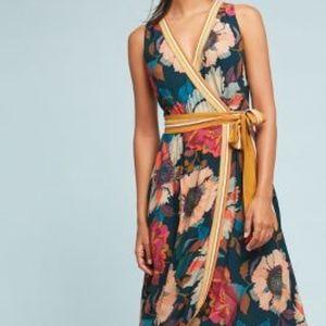Anthropologie Dresses Lilka Seaglass Keyhole Dress Xs